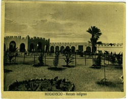 SOMALIA - MOGADISCIO / MOGADISHU - MERCATO INDIGENO - STAMPS - 1936 (3254) - Somalia