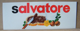 MONDOSORPRESA, ADESIVI NUTELLA NOMI, SALVATORE - Nutella