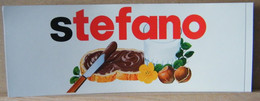MONDOSORPRESA, ADESIVI NUTELLA NOMI, STEFANO - Nutella