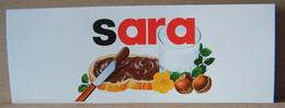 MONDOSORPRESA, ADESIVI NUTELLA NOMI, SARA - Nutella