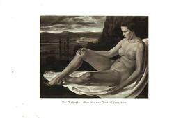 Die Ruhende (nach Einem Gemälde Von Rudolf Lenggrueßer)  /Druck Aus Zeitschrift /1935 - Bücher, Zeitschriften, Comics
