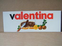 MONDOSORPRESA, ADESIVI NUTELLA NOMI, VALENTINA - Nutella