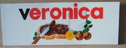 MONDOSORPRESA, ADESIVI NUTELLA NOMI, VERONICA - Nutella