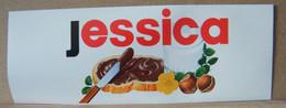 MONDOSORPRESA, ADESIVI NUTELLA NOMI, JESSICA - Nutella
