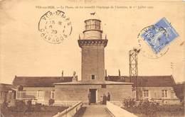 50-VER-SUR-MER- LE PHARE OU FUT RECUEILLI L'EQUIPAGE DE L'AMERICA LE 1er JUILLET 1927 - Altri Comuni