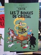 Sérigraphie Poster Couverture Album Tintin Hergé - Sérigraphies & Lithographies