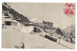 SUISSE - LEYSIN En Hiver - VD Vaud