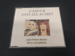 CD JEAN PIERRE MADER & MERY LANZAFAME L'Amour Sans Les Autres 1991 FRANCE CD Maxi Single - Musik & Instrumente