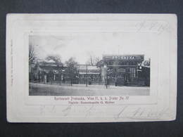 AK WIEN II. PRATER Restaurant Prohaska Ca.1900 //  D*31708 - Prater