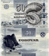 FAEROE IS.       50 Kronur       P-29       (20)11       UNC - Isole Faroer