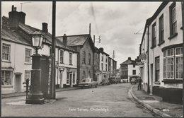 Fore Street, Chulmleigh, Devon, 1972 - Lilywhite RP Postcard - England