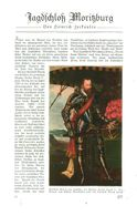 Jagdschloß Moritzburg (von Heinrich Zerkalen) /Artikel, Entnommen Aus Zeitschrift /1935 - Books, Magazines, Comics