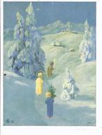Weihnachtskarte - Gemälde Von M- Schönermark   (89997-11) - Autres