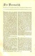Der Vormarsch (Erzählung Aus Dem Punischen Krieg) /Artikel, Entnommen Aus Zeitschrift /1935 - Livres, BD, Revues