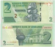 Zimbabwe - 2 Dollars 2016 / 2017 UNC Ukr-OP - Zimbabwe