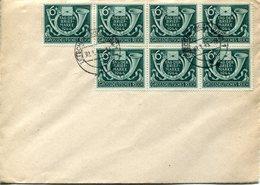 33933 Germany Reich, Cover  With 7x Stamp Day 1944, Tag Der Briefmarke 7x - Deutschland