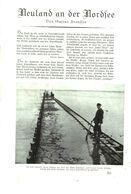 Neuland An Der Nordsee (von Gustav Frenssen)  /Artikel, Entnommen Aus Zeitschrift /1935 - Bücher, Zeitschriften, Comics