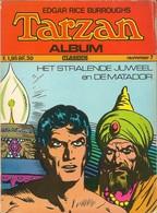 Album Classics Tarzan Van De Apen N° 7 - (in Het Nederlands) Williams Lektuur - 1972 - Tekeningen Burne Hogarth - BE - Autres