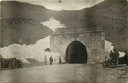 Themes Div -ref X109 - 2 Cartes Photos -tunnel Du Galibier Coté Maurienne - Savoie -cartes Photos Bon Etat  - - Unclassified