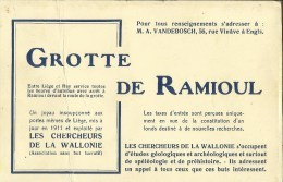 Engis -- Grotte De Ramioul - Carnet Complet 9 Cartes .    (voir Scans) - Engis