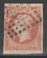France - YT 16 Oblitéré PC 2738 Rouen Seine Maritime - 1853-1860 Napoleon III