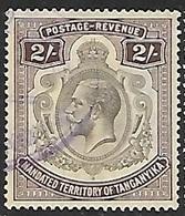Tanganyika  1927   Sc#40 2sh Used  2016 Scott Value $6 - Tanganyika (...-1932)