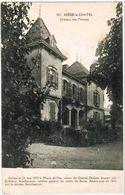 CPA BERZE LE CHATEL - Château Des Thinons - 28/08/1923 - Unclassified