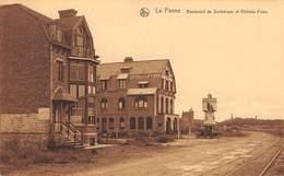 CPA -  Belgique, LA PANNE, Boulevard De Dunkerque Et Chateau D'eau - De Panne