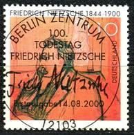 BRD - Mi 2131 - Zentrisch OO Gestempelt (A) - 110Pf   Friedrich Nietzsche - Oblitérés