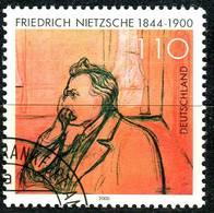 BRD - Mi 2131 - OO Gestempelt (G) - 110Pf   Friedrich Nietzsche - Gebruikt