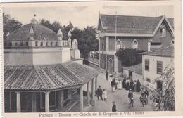 POSTCARD PORTUGAL - TOMAR - CAPELA DE S. GREGÓRIO E VILA THOMÉ - Santarem
