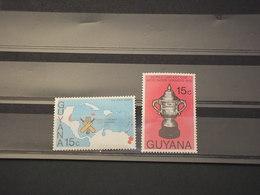 GUYANA - 1976 CRICKET  2 VALORI - NUOVI(++) - Guiana (1966-...)