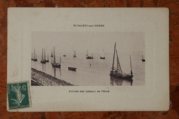 SAINT VALERY SUR SOMME (80) - ARRIVEE DES BATEAUX DE PECHE - Saint Valery Sur Somme