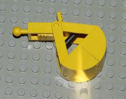Légo 1 X Excavateur Pelle Jaune Avec Le Ressort 3492c01 - Lego Technic