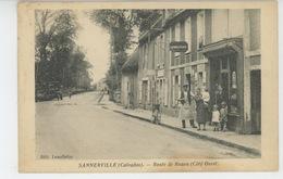 SANNERVILLE - Route De Rouen - France