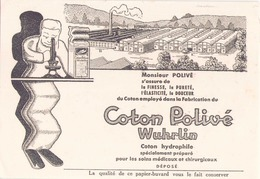 """Buvard """" Coton Polivé Wuhrlin """" ( Pliures, Rousseurs, 21 X 14 Cm ) - Perfume & Beauty"""