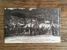 BELFORT - Aéroplane Allemand Pris Le 16 Août 1914 à Cernay Et Exposé à Belfort - Guerre 1914 - Belfort - Stad
