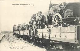 Guerre 1914-1915 - Train Sanitaire Anglais - Guerre 1914-18