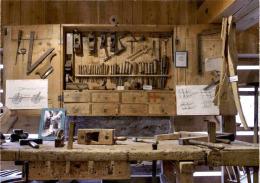 Steierisches Holzmuseum - St. Ruprecht Ob Murau - Alte Wagnerwerkstätte Im Holzmuseum - Österreich