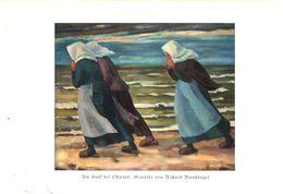 Am Haff Bei Ostwind (Gemälde Von Richard Birnstengel) / Druck, Entnommen Aus Zeitschrift /1935 - Bücher, Zeitschriften, Comics