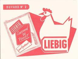 "Buvard "" Liebig "" ( Pliures,  20 X 14.5 Cm ) - Soups & Sauces"