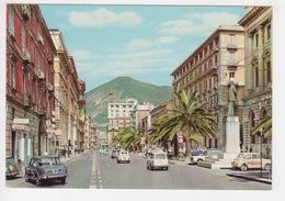 ^ SALERNO CORSO GARIBALDI AUTO CAR TARGA VISIBILE PANORAMA 259A - Salerno