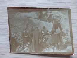 Diabase De Challes - Photo : Excursion De Géologie 21 Avril 1909 - Format: 9/6.5cm - Voir 3 Scans. - Stavelot