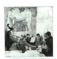 Das Kuenstlerbund-Orchester (Radierung Von Prof.Alexander Eckener) / Druck, Entnommen Aus Zeitschrift /1935 - Bücher, Zeitschriften, Comics