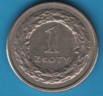 POLAND 1 ZLOTY 1992  KM# 282 - Polonia