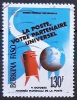 BURKINA FASO 1991 World Post Day. USADO - USED. - Burkina Faso (1984-...)