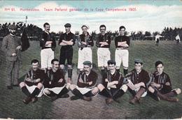 CPA -  MONTEVIDEO - Team Peñarol Ganador De La Copa Competencia 1905 (Equipe De Football Uruguay 1905) - Uruguay