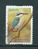 2010 Australia Bird,oiseaux,vögel,Kingfisher,self-adhesive Used/gebruikt/oblitere - 2010-... Elizabeth II