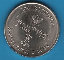 POLAND 10000 Złotych 1991 Polish Constitution  KM# 217 KONSTYTUCJI 3 MAJA - Polonia