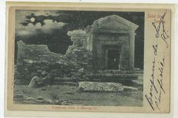 Turquie Salut De Smyrne Tombeau Grec A Herapolis 1903 - Turkey